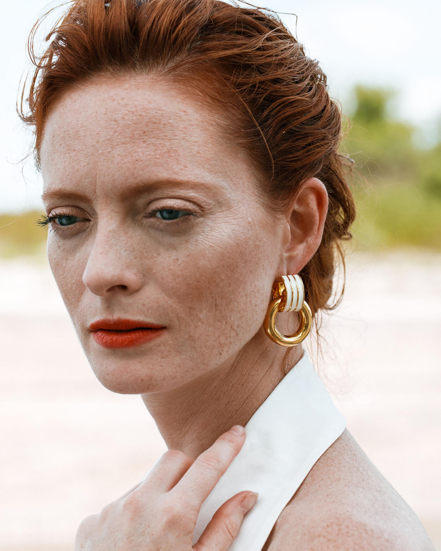 Lizzie Fortunato Piazza Drop Earrings 1