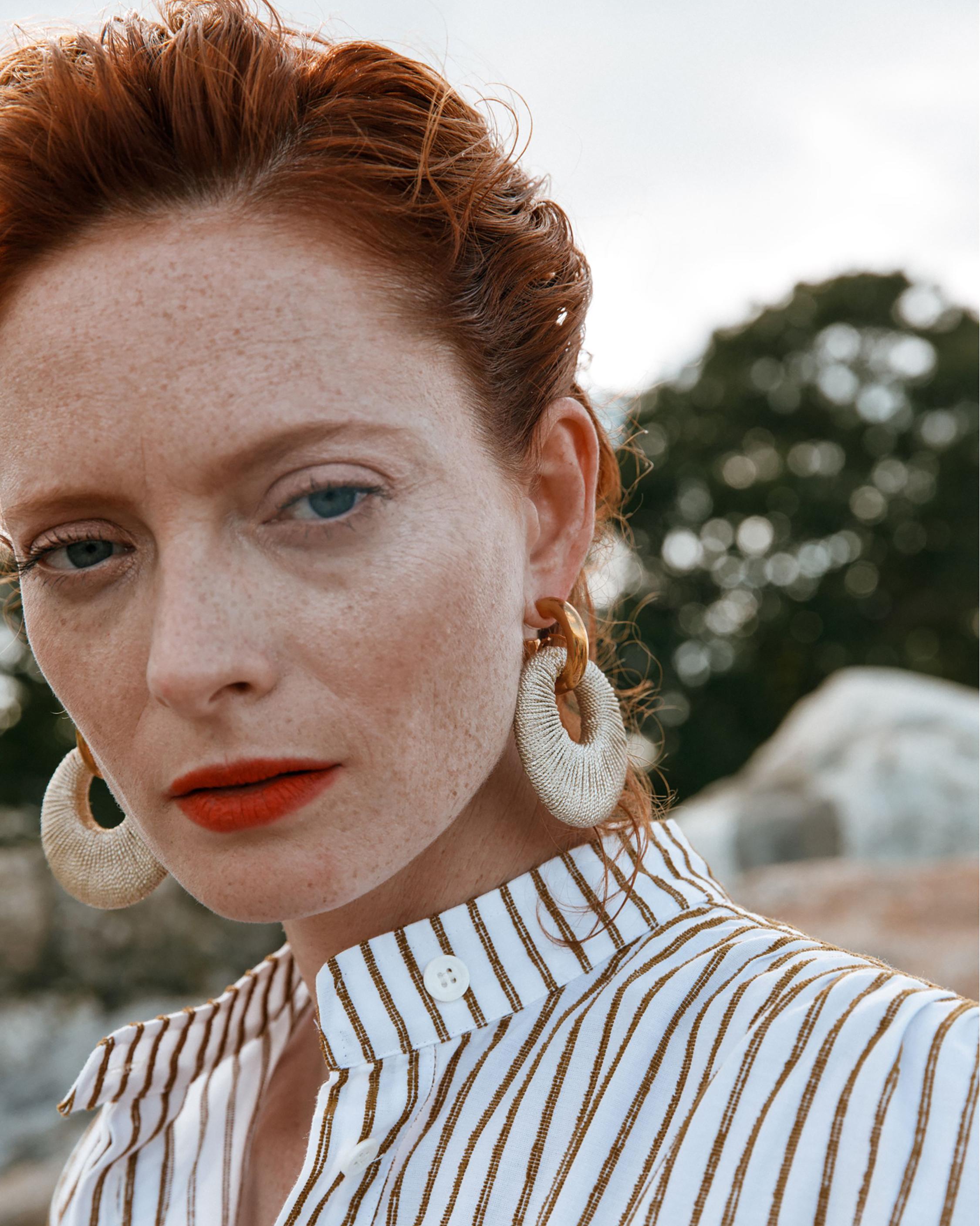 Lizzie Fortunato Orb Hoop Earrings 1