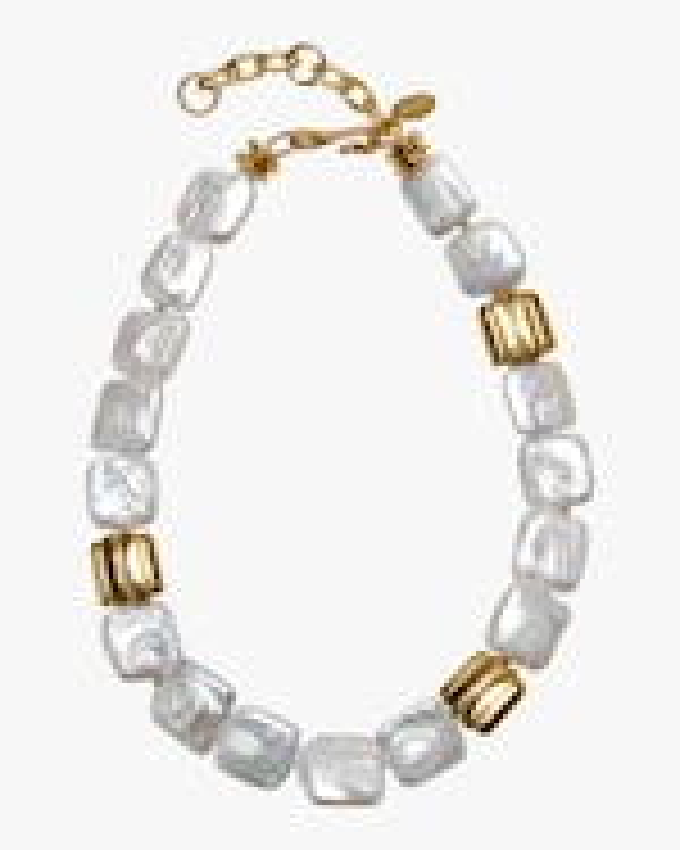 Lizzie Fortunato Garda Pearl Collar 0