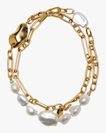 Lizzie Fortunato Oyster Pearl Necklace 2