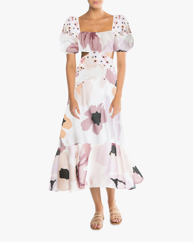 Peony Cutout Midi Dress 1