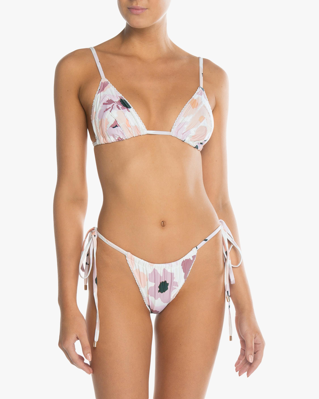 String Triangle Bikini Top
