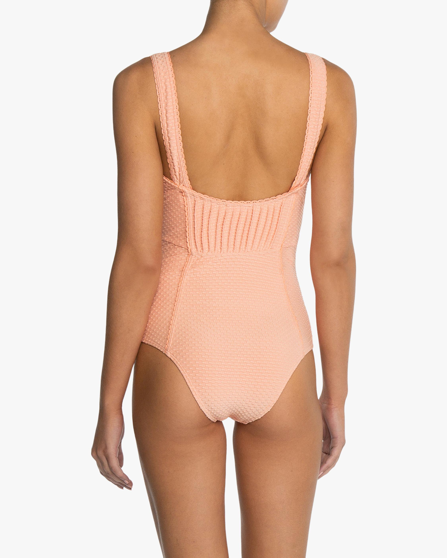Peony Pintucked One-Piece Swimsuit 2