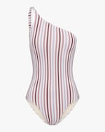Peony One-Shoulder One-Piece Swimsuit 0
