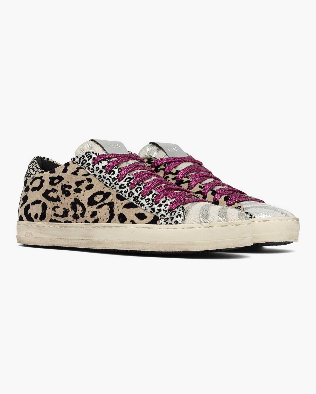 P448 John Leopard Sneaker 1