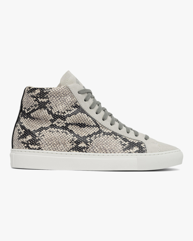 Star High Top Python Sneaker