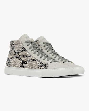 Star High Top Python Sneaker