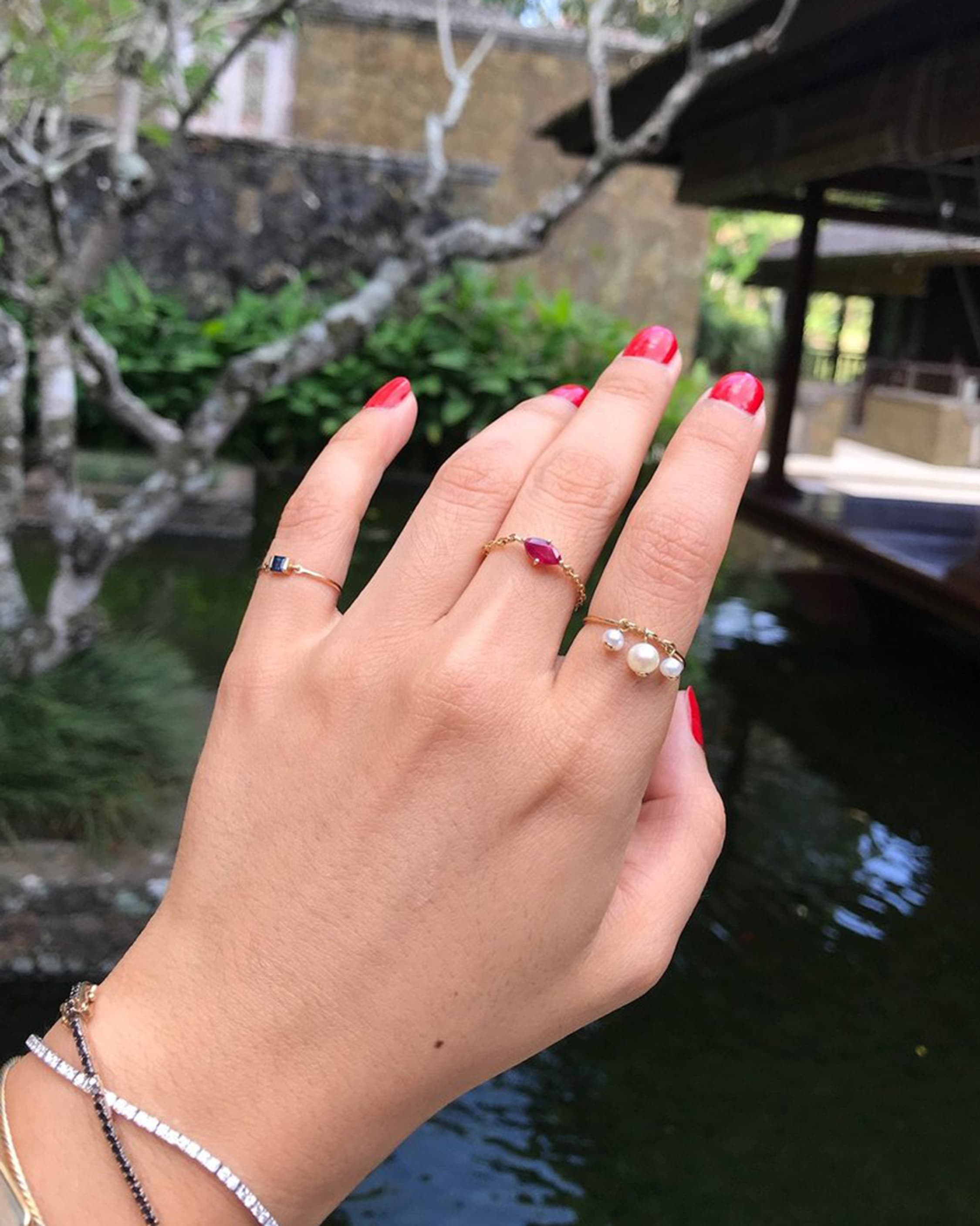 Yi Collection Pearl Triplet Ring 2