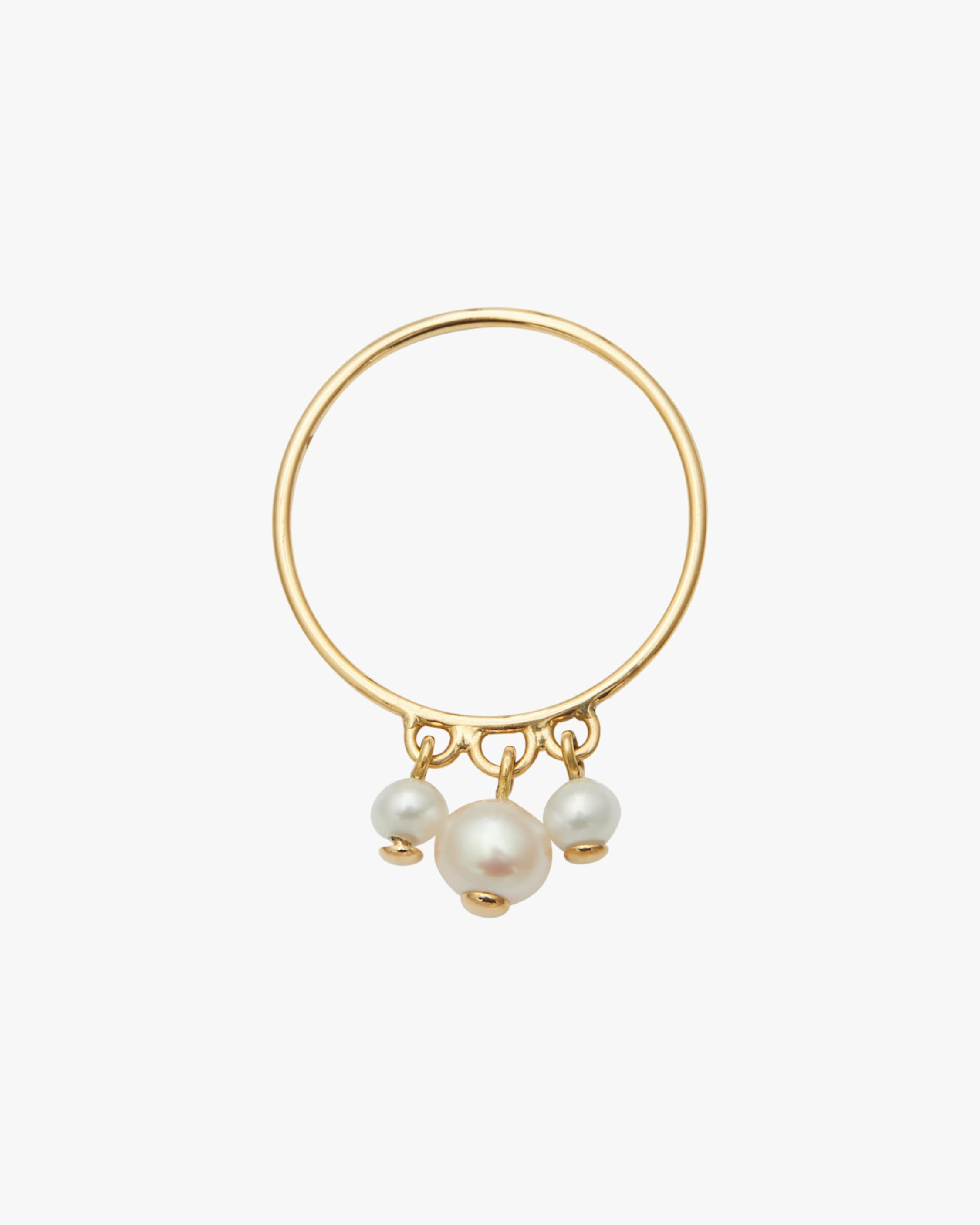 Yi Collection Pearl Triplet Ring 1