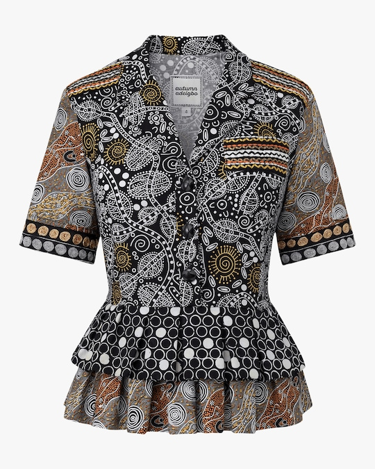 Autumn Adeigbo Samantha Blouse 0