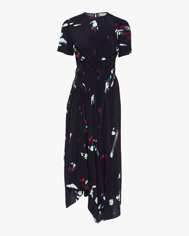 Preen Line Violet Midi Dress 0