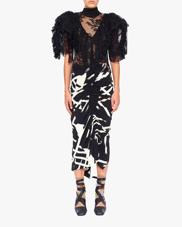 Preen by Thornton Bregazzi Xenie Midi Skirt 1