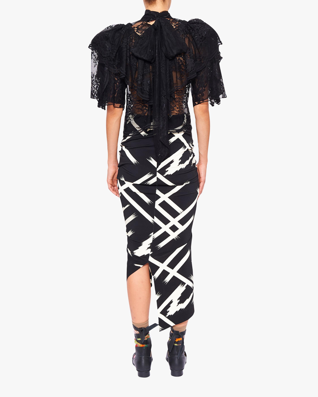Preen by Thornton Bregazzi Xenie Midi Skirt 3