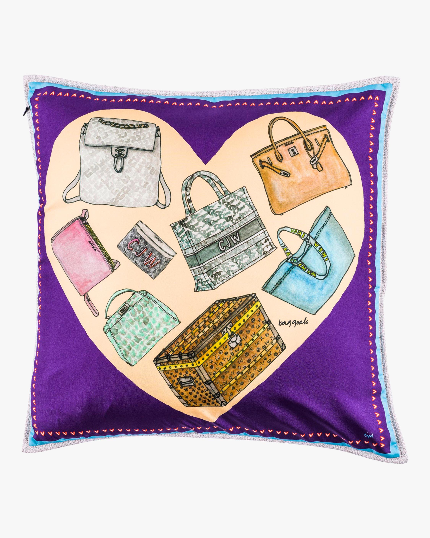 CJW Bag Goals Pillow 0