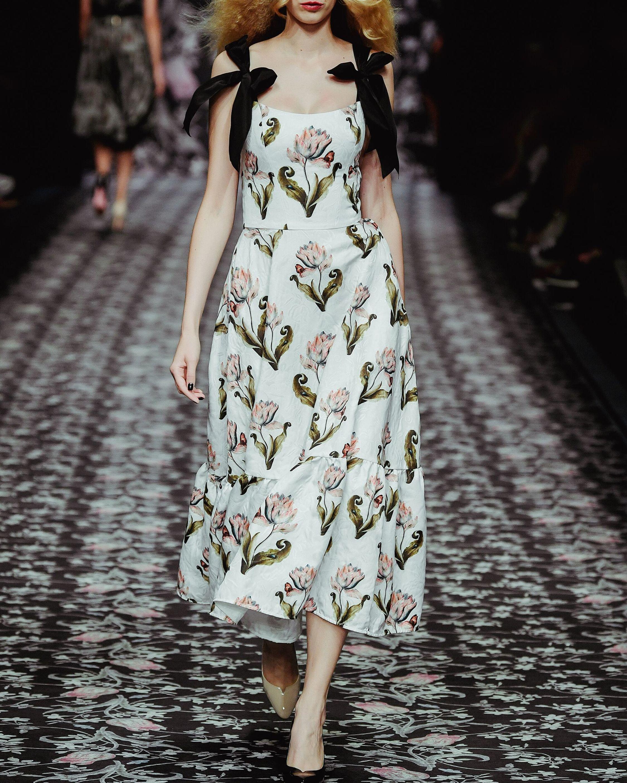 Lena Hoschek Daughter Of Nature Midi Dress 5