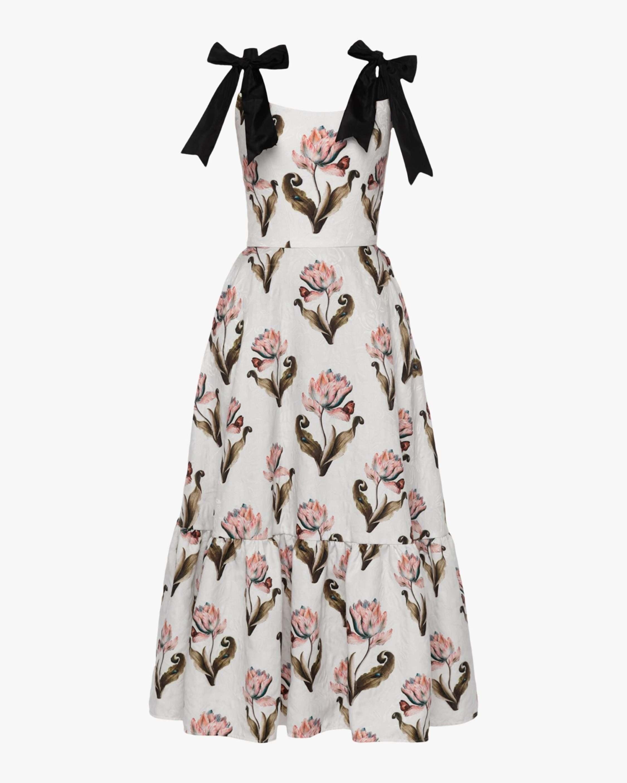 Lena Hoschek Daughter Of Nature Midi Dress 0