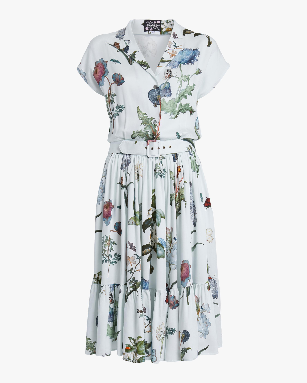 Lena Hoschek Signs Of Spring Shirt Dress 0