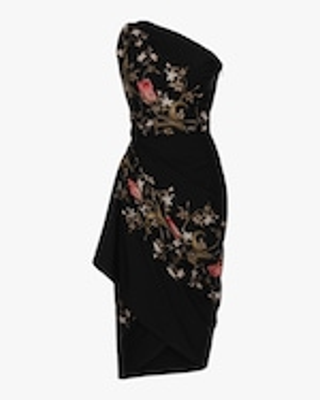 Lena Hoschek Voodoo One-Shoulder Dress 0