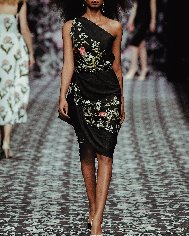 Lena Hoschek Voodoo One-Shoulder Dress 1