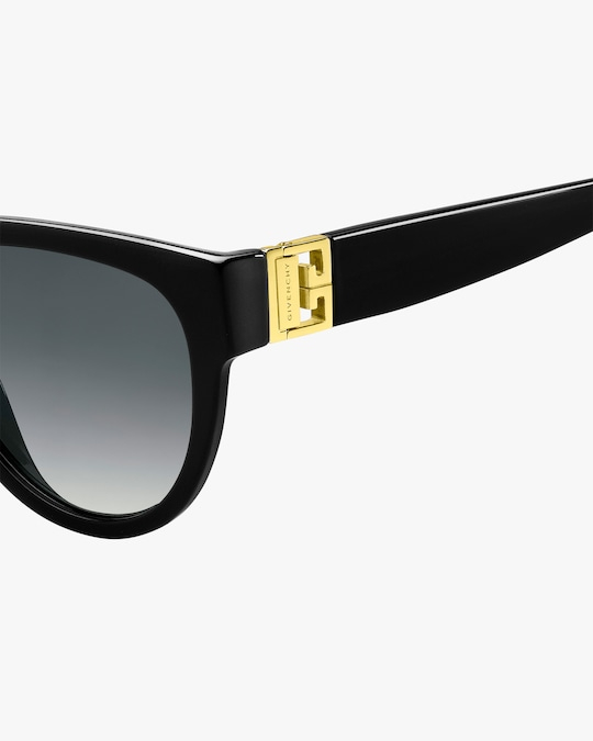 Givenchy Temple-Band Round Sunglasses 1