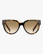 Givenchy Temple-Band Round Sunglasses 0