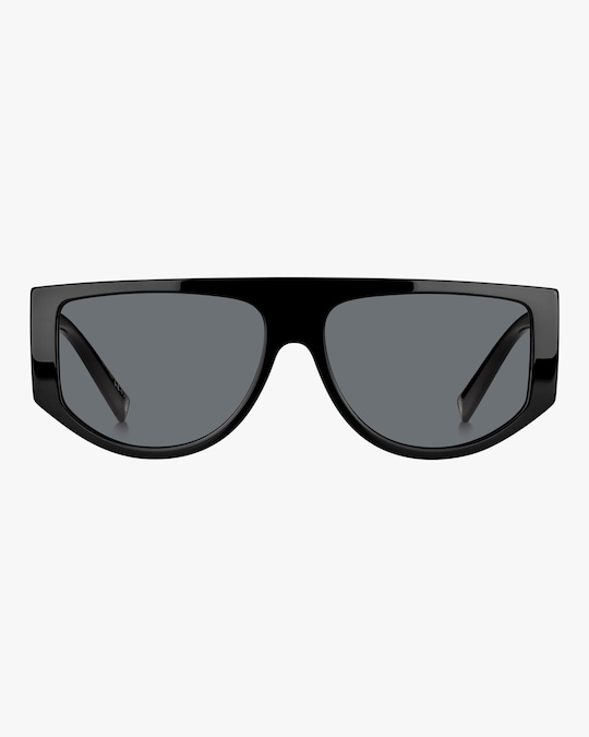 Givenchy Temple-Band Shield Sunglasses 0
