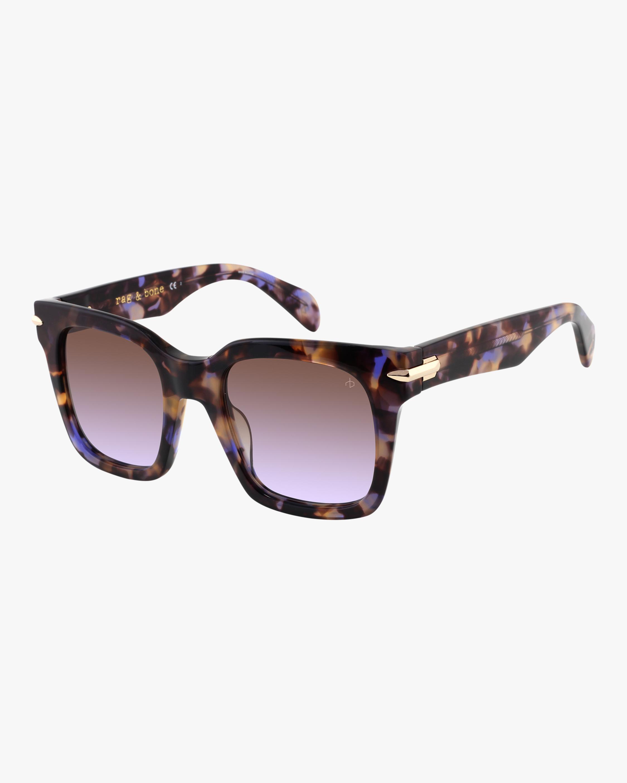 Gradient-Lense Square Sunglasses