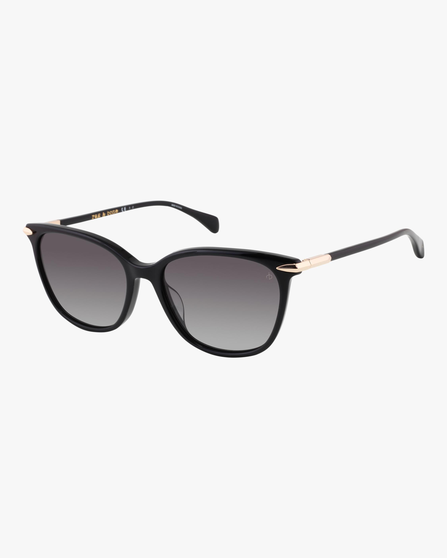 Gradient-Lense Round Sunglasses