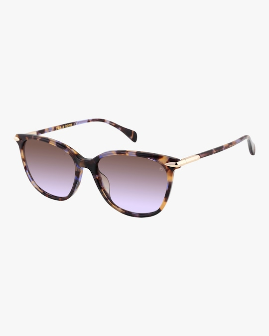 rag & bone Gradient-Lense Round Sunglasses 0