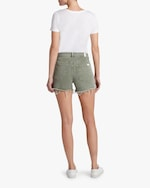 7 For All Mankind High-Waist Frayed Shorts 2