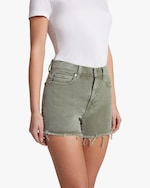 7 For All Mankind High-Waist Frayed Shorts 3