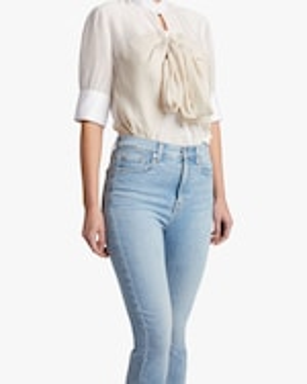 7 For All Mankind High-Waist Slim Kick Jeans 3