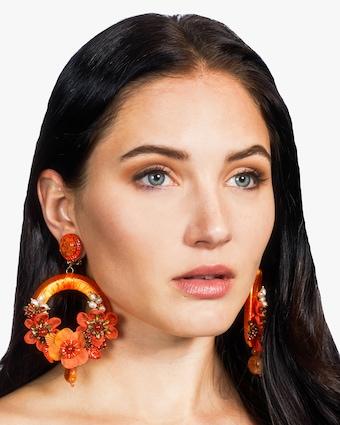 Rosalie Clip-On Earrings