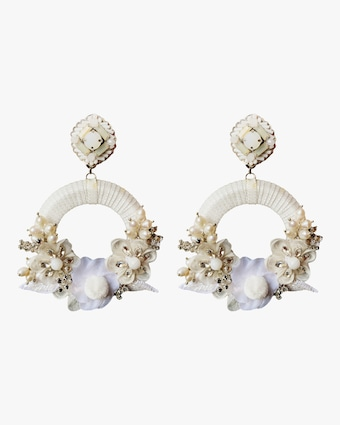 Rosa Clip-On Earrings