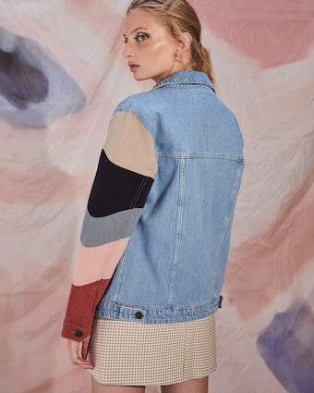 Listra Oversized Denim Jacket