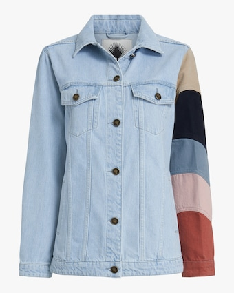 Jota-Kena Listra Oversized Denim Jacket 1