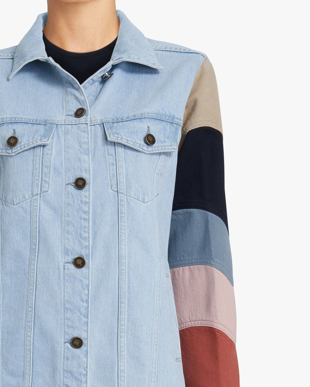 Jota-Kena Listra Oversized Denim Jacket 3