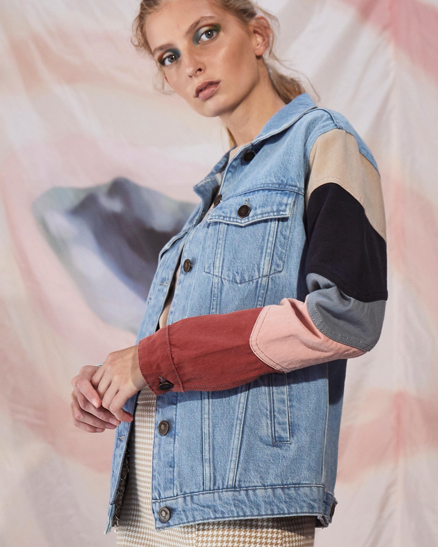 Jota-Kena Listra Oversized Denim Jacket 4