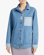 Jota-Kena Blayke Oversized Denim Jacket 1