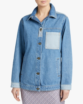 Jota-Kena Blayke Oversized Denim Jacket 2