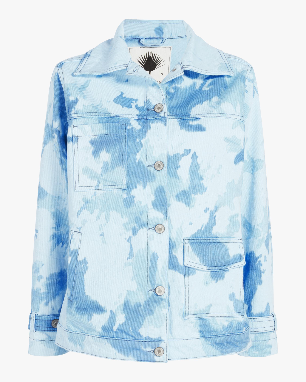 Jota-Kena Azure Oversized Denim Jacket 0