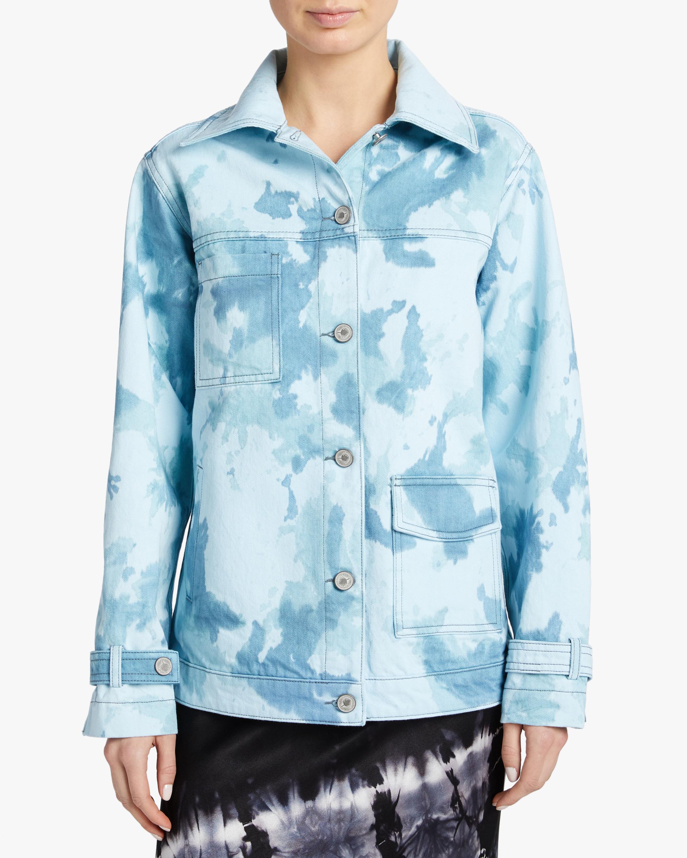 Jota-Kena Azure Oversized Denim Jacket 2