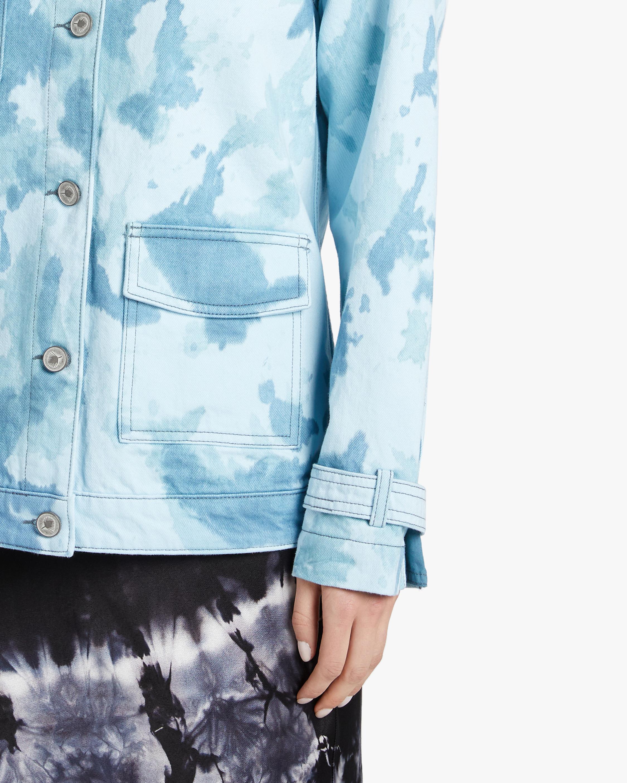 Jota-Kena Azure Oversized Denim Jacket 4
