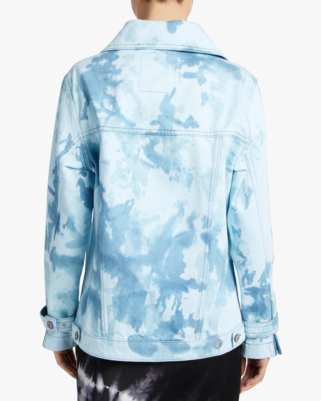 Jota-Kena Azure Oversized Denim Jacket 3