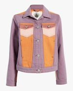 Jota-Kena Moonriver Cropped Denim Jacket 0