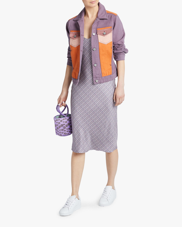 Jota-Kena Moonriver Cropped Denim Jacket 2