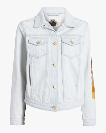 Eclipse Cropped Denim Jacket
