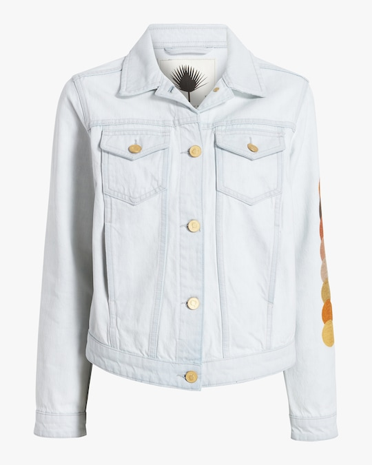 Jota-Kena Eclipse Cropped Denim Jacket 0