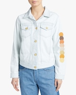 Jota-Kena Eclipse Cropped Denim Jacket 2