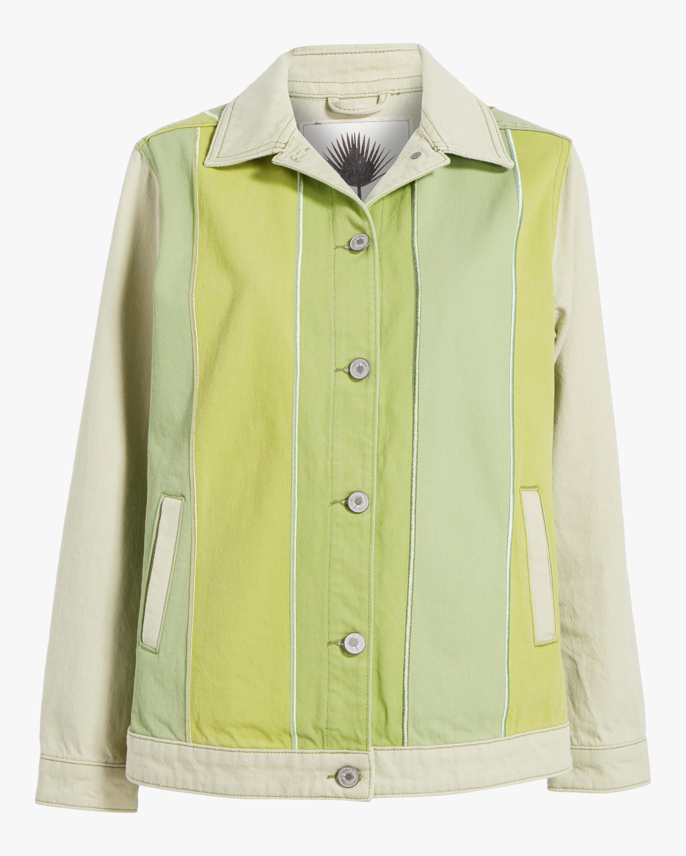 Jota-Kena Olivine Oversized Denim Jacket 1
